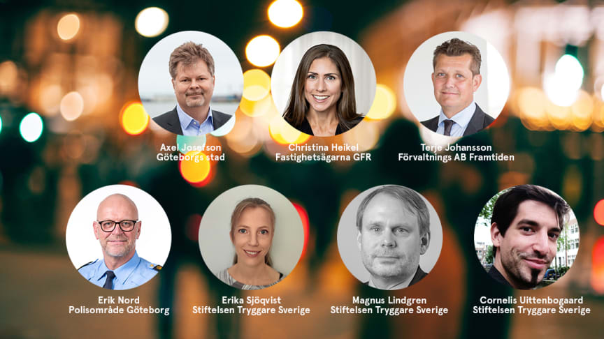 Säkra och trygga platser - inbjudan till seminarium i Göteborg den 8 december