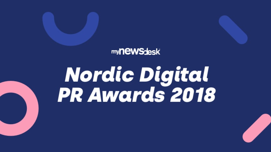 Mynewsdesks's Digital PR Awards 2018