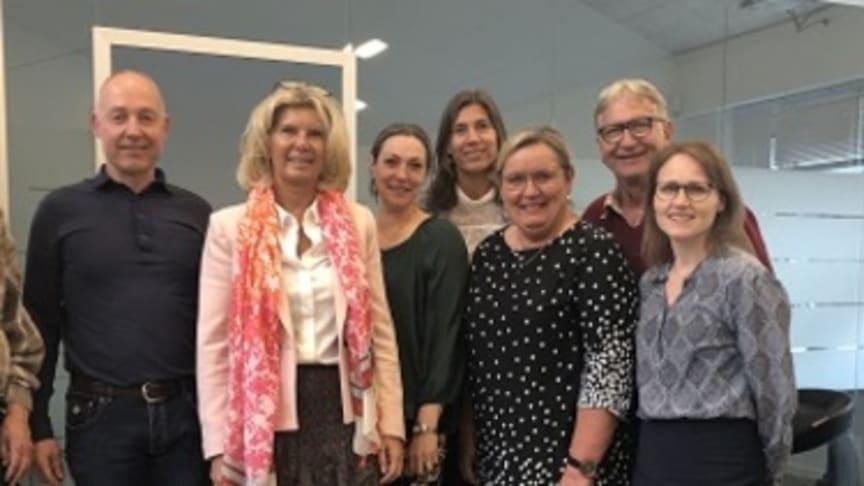Erhvervsudvalget på besøg hos teknikvirksomheden Poul Sejr Nielsen i Birkerød