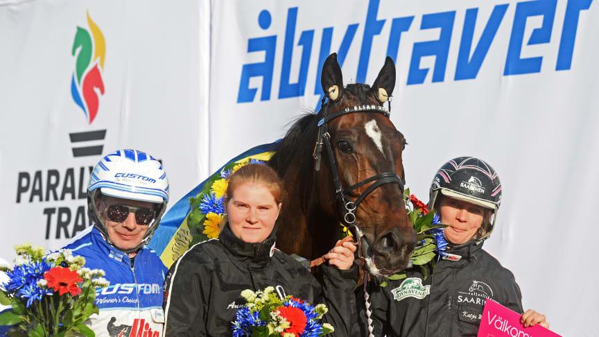 Elian Web vann Paralympiatravets final