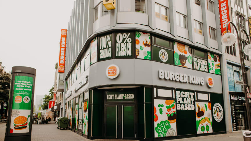Burger King® festigt mit The Vegetarian ButcherTM seine Vorreiterrolle im Plant-based Sortiment