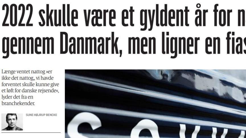 Artikel i danska tidningen Politiken
