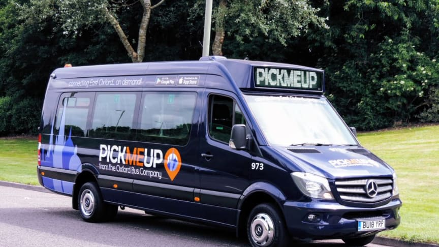 OXFORD BUS COMPANY TO WITHDRAW PICKMEUP SERVICE FOLLOWING TWO YEAR PILOT SCHEME
