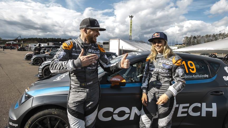 Daniel Haglöf och Mikaela Kottulinsky, PWR Racing Team