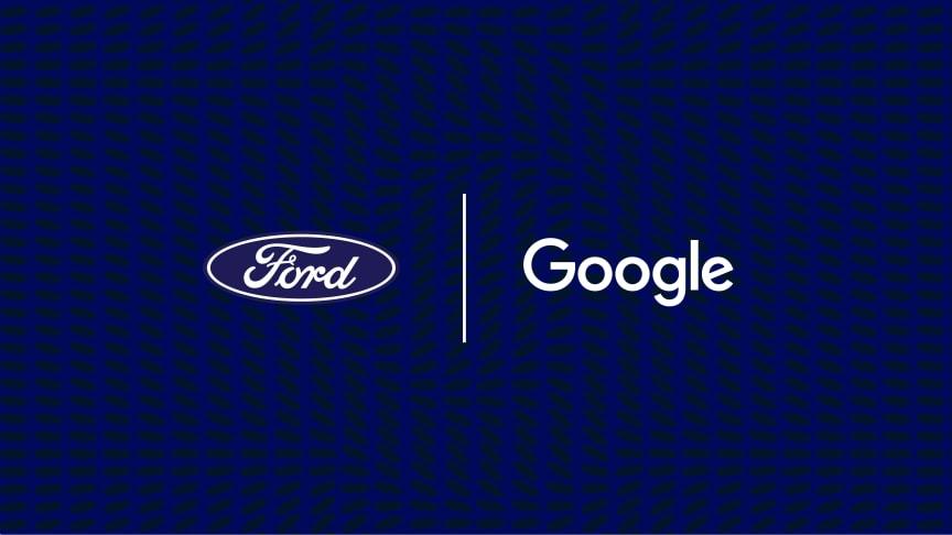 Ford og Google inngår stort samarbeid om digitale løsninger i Fords biler