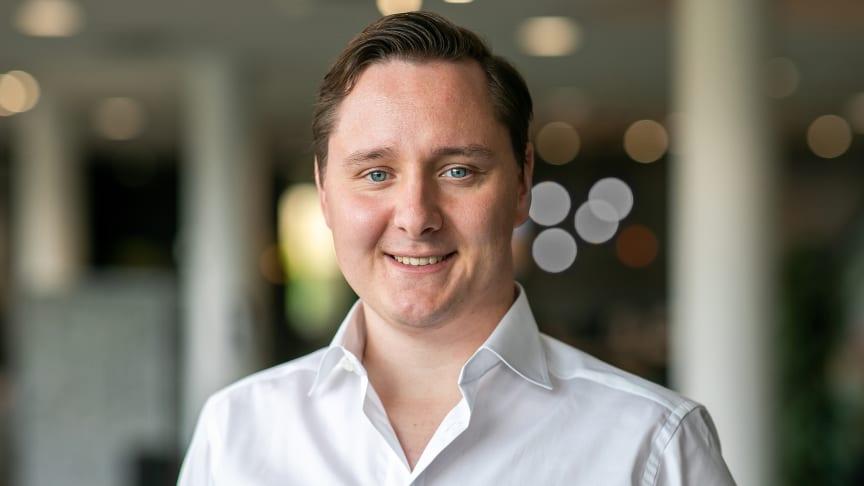 Håvard Hansen, ny økonomisjef i BoKlok Norge.