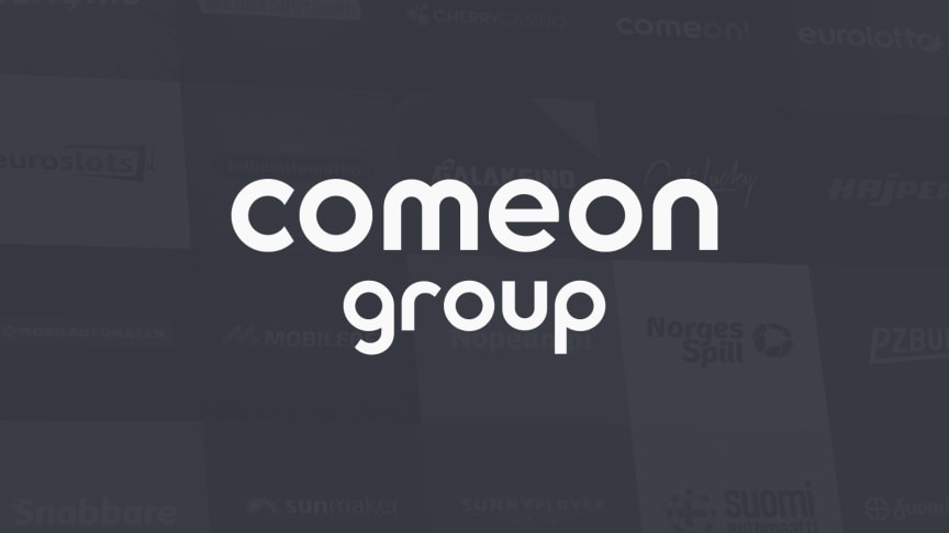 The ComeOn Group consists of more than 20 brands