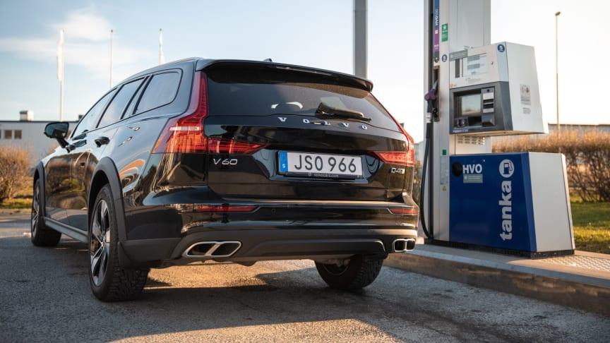 Volvohandelns Tanka och OKQ8 ökar utbudet av HVO100