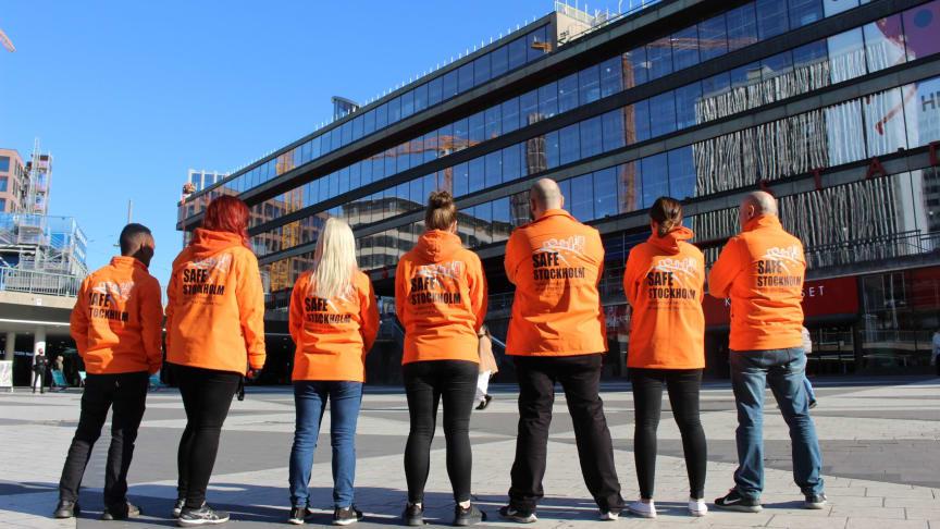 SAFE Stockholms trygghetsvärdar är en av Skyddsvärnets verksamheter som blivit ISO certifierade.