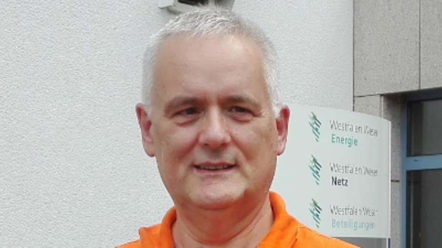 Jürgen Riedel seit 40 Jahren unter Strom