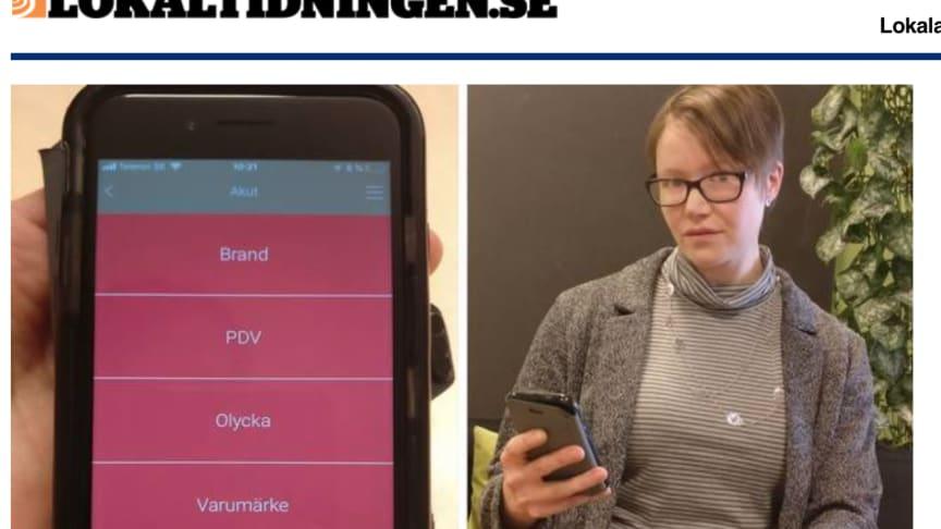 Krisapp ska varna lärare vid skolattacker i Malmö