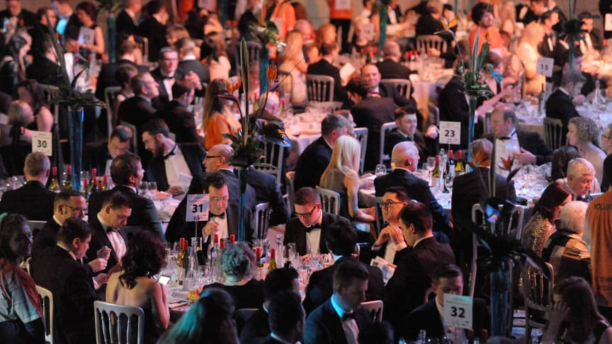 Guests enjoy 'Faster, Higher, Stronger'fundraising dinner at Northumbria University