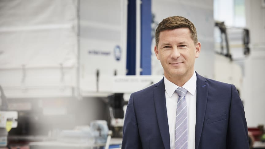 "Markus Schell, personally liable managing partner of BPW: ""The future of the transport and logistics industry lies in the intelligent use of data"""