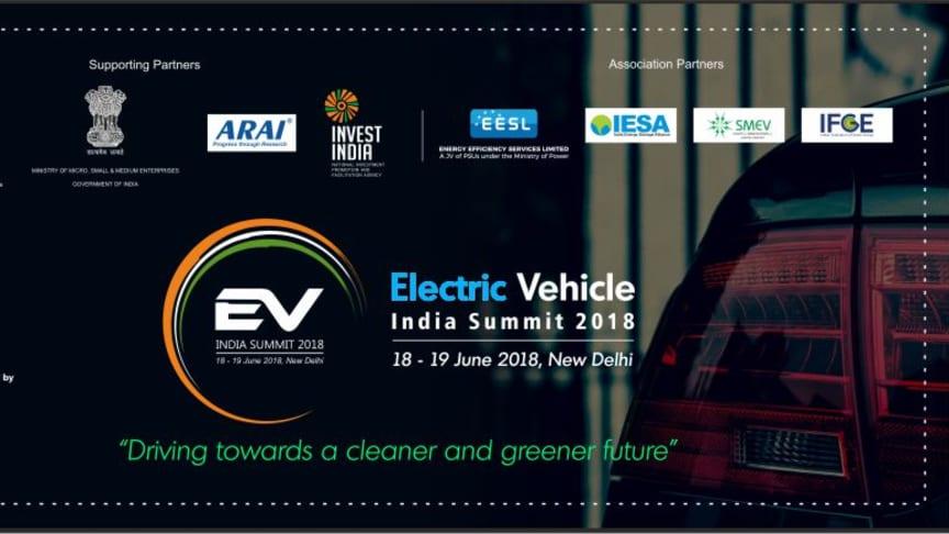 [JIEC]インド開催 Electric Vehicle India Summitにメディアパートナーとして参画