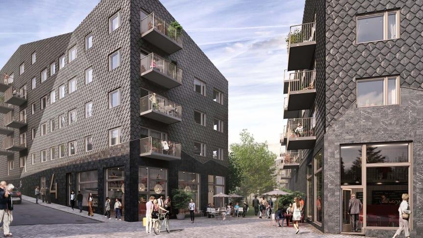 Viktor Hanson får marktilldelning i Väsby Entré för hållbart miljöprojekt