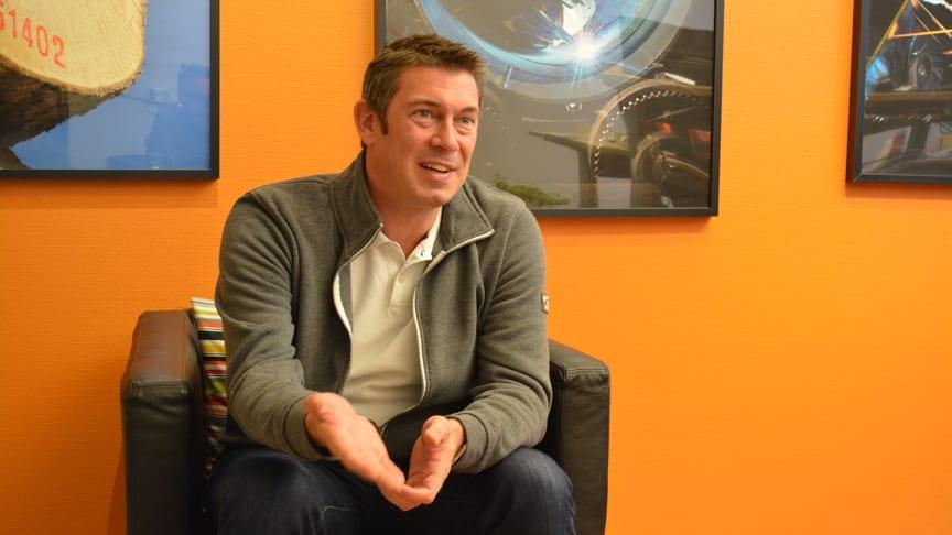 Carsten Lyth är ny standardiseringschef på SSG