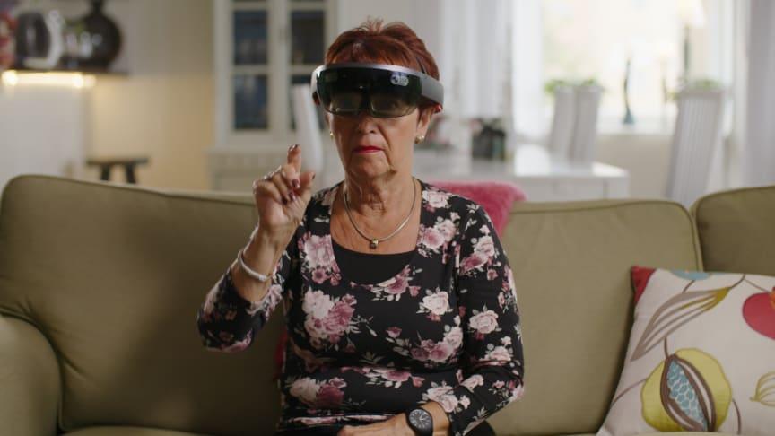 VR-teknik med Brain Stimulation