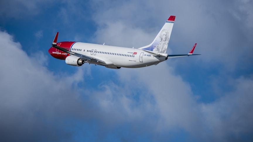 Norwegian med god passagerartillväxt och fullare flyg i oktober
