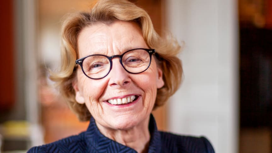Marianne Ränk, dotter till Einar Mattsson och mamma till de tre ägarna av familjeföretaget idag