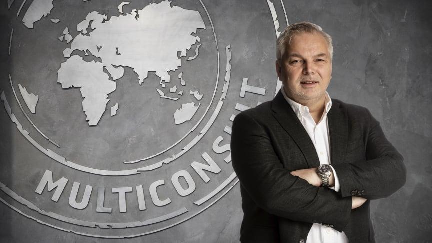 Leif Olav Bogen, konserndirektør Region Nord i Multiconsult