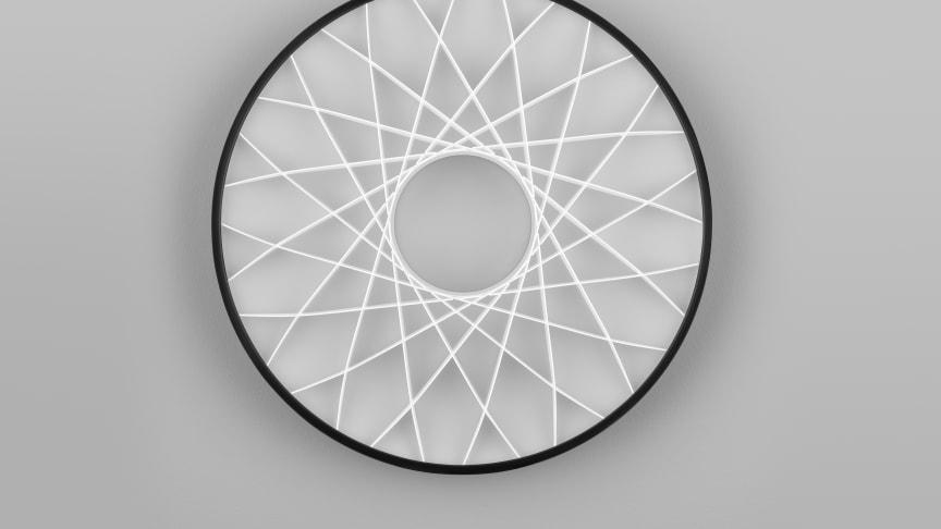 Paragon - pendelarmatur med dekorativ mönsterbild