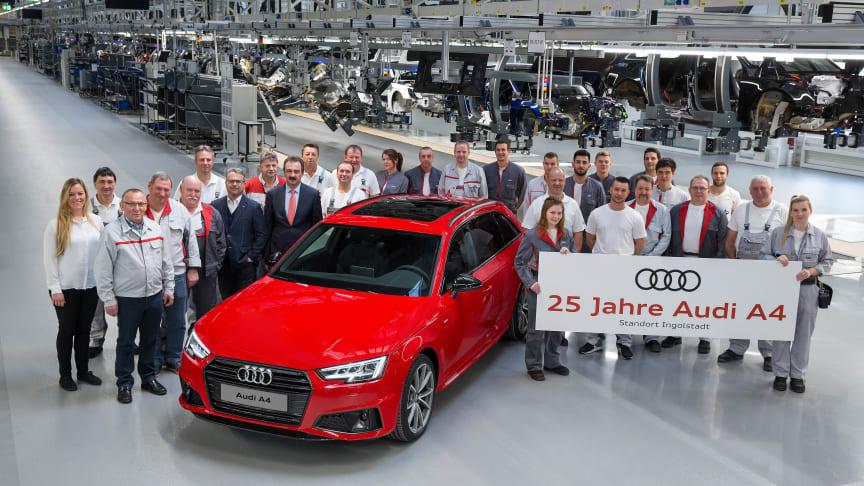 25 år med Audi A4