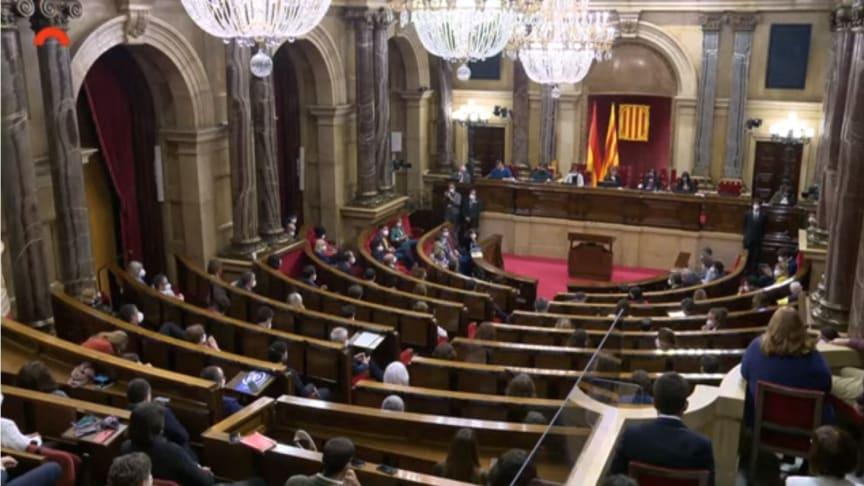 Das katalanische Parlament hat einen neuen Präsidenten gewählt