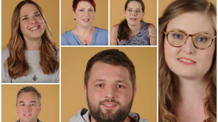 Florian, Kerstin, Peter, Bianca, Melanie und Monique - sie alle hatten Darmkrebs.
