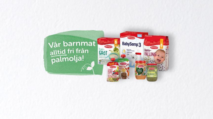 Semper Barnmat helt utan palmolja