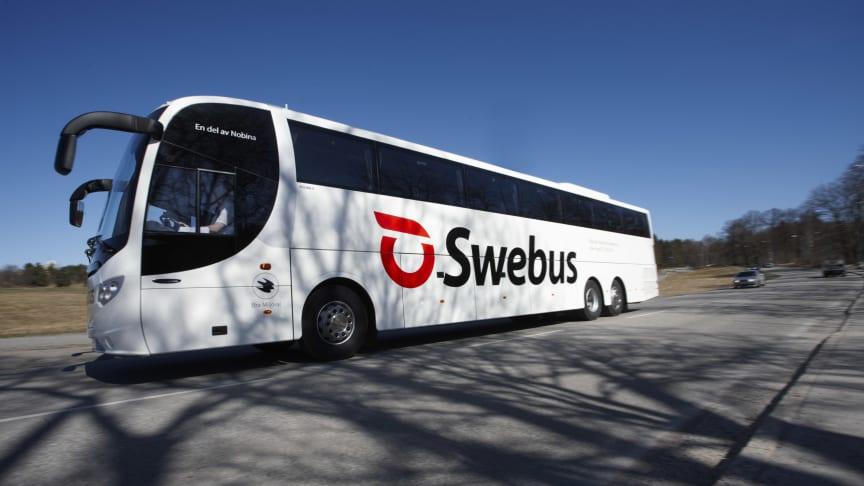 Tätare Swebus-trafik mellan Arlanda och Västerås