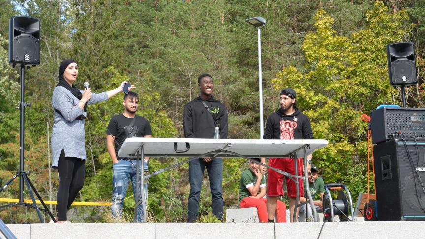 Feiret ungdom med festival på Stovner