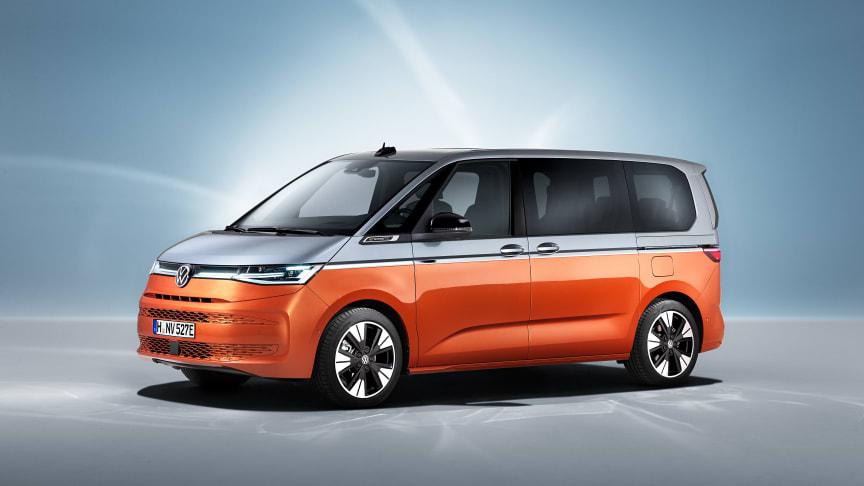 Folkabussen generation 7 - Nya Multivan
