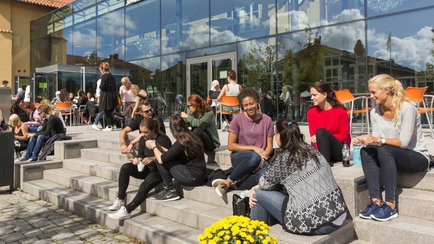 För första gången har fler än 40 000 ansökt till Högskolan Kristianstad.
