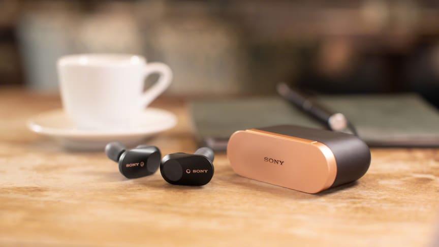 Los auriculares WF-1000XM3 de Sony