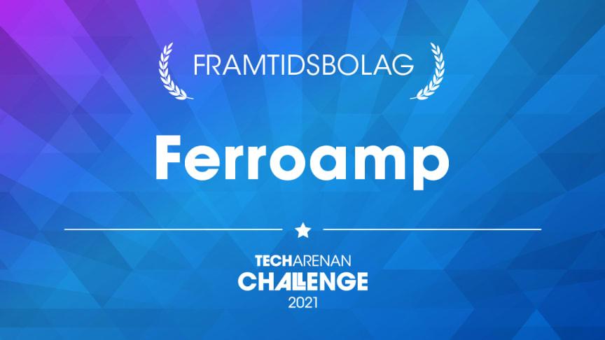 Ferroamp är finalist i Techarenan Challenge.