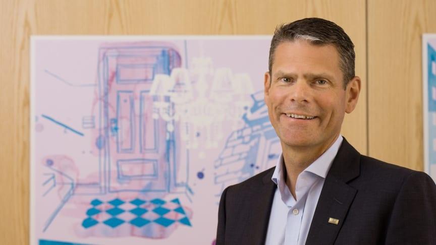 Martin Fors, nytillträdd fastighetschef på Einar Mattsson
