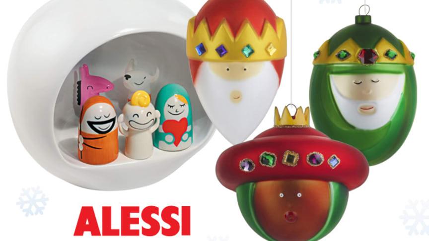 Trendigare jul med pynt från Alessi!