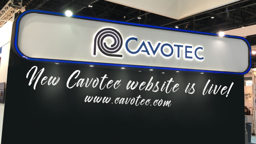 Cavotec launches new group website