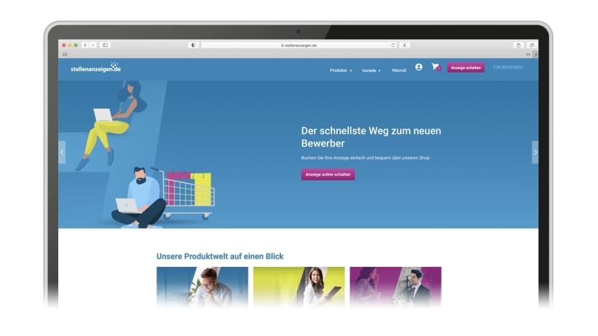 Der neue Arbeitgeberbereich von stellenanzeigen.de ist live