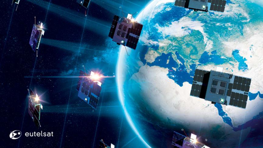 Eutelsat kicks off ELO, its constellation of nanosatellites dedicated to the Internet of Things