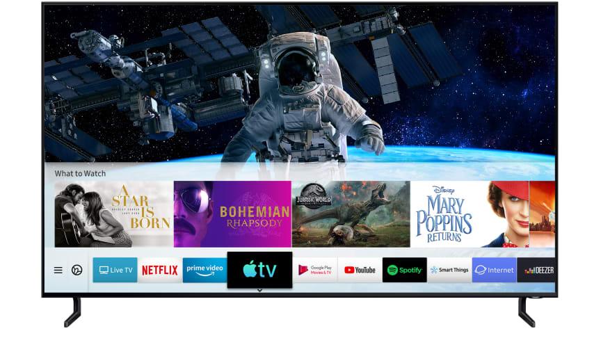 Apple TV och stöd för AirPlay 2 på Samsungs Smart TV
