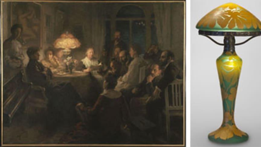 Temadag Ljus och mörker på Nationalmuseum