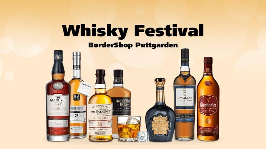 Whisky Festival byder på uhørt sjældne flasker