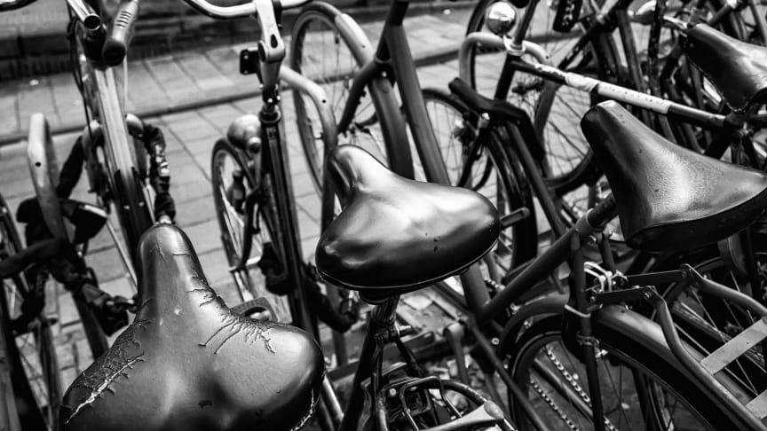 Övergivna cyklar. Bild: GettyImages