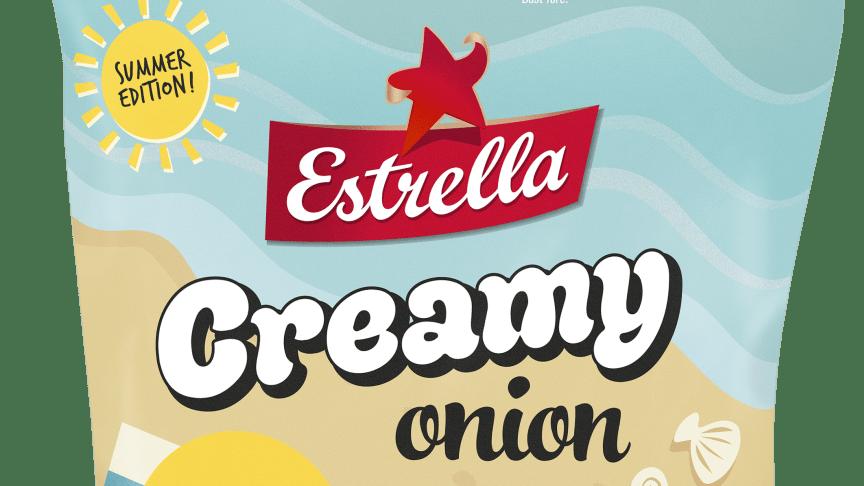 Sommarsnacks 2020: grovräfflade potatischipset Creamy Onion