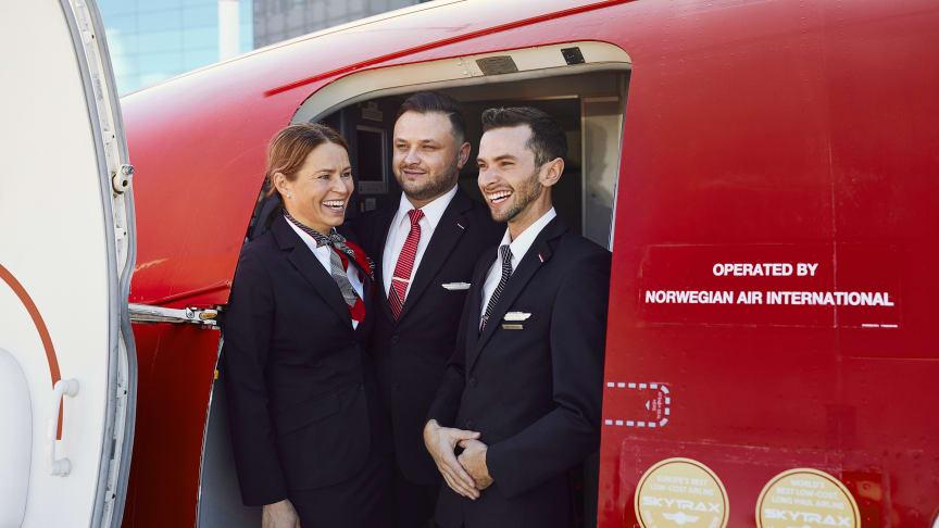 Norwegian crew members