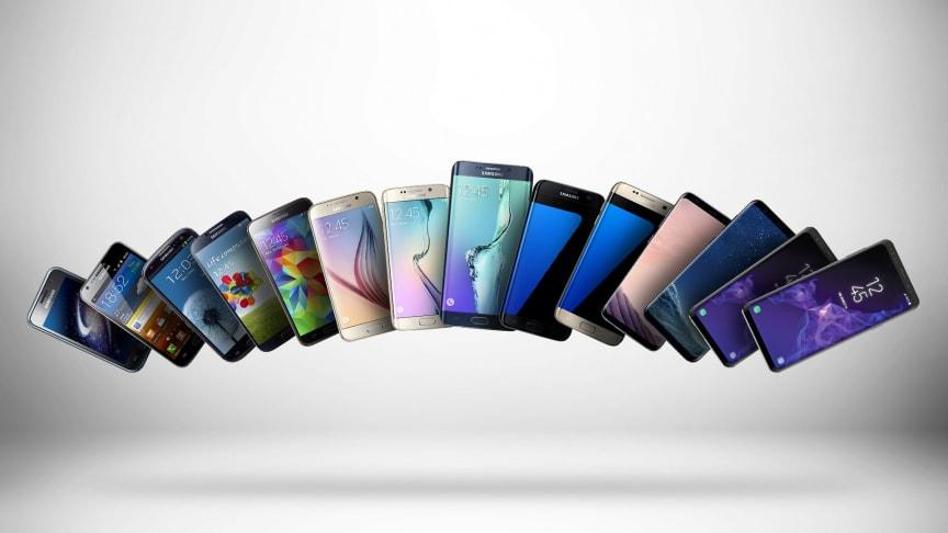 10 år med Samsung Galaxy