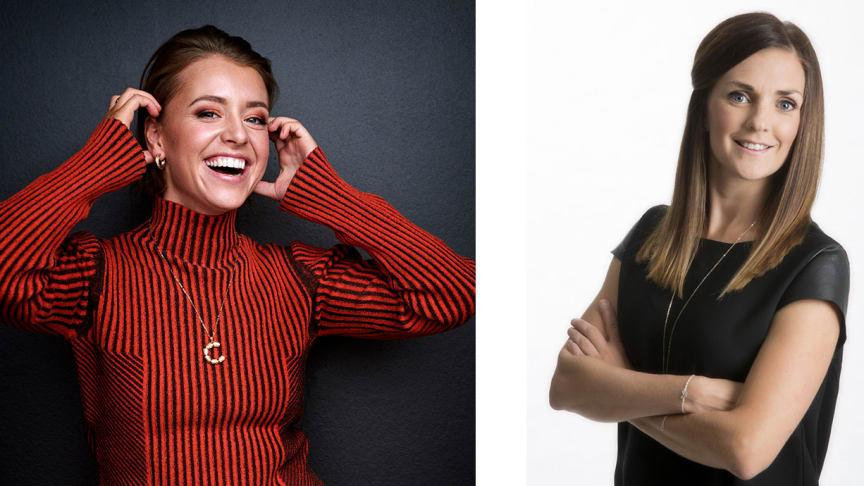 Clara Henry och Johanna Ojala blir programledare för Hemmavasan Live 15 augusti i Vasaloppet.TV.