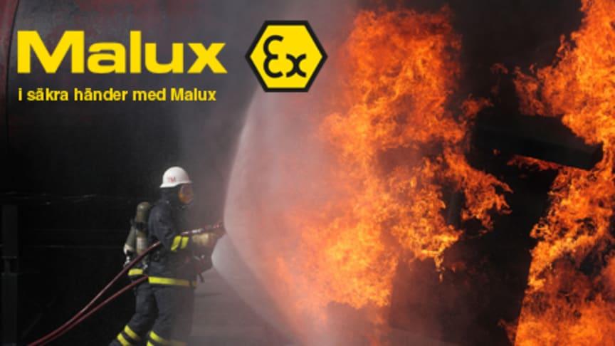 Malux ställer ut på Elfack 2013!