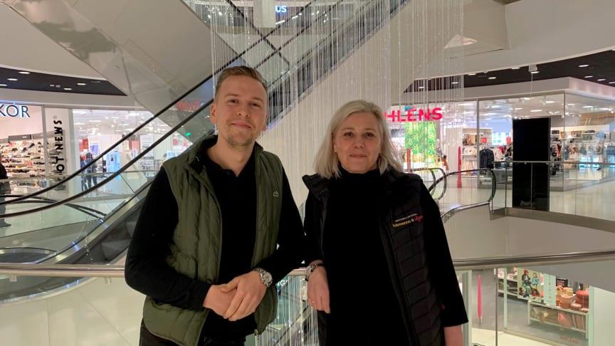 Konrad Sööder och Malin Rilde.